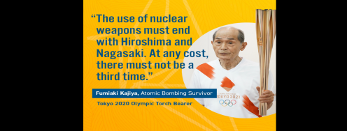A WORLD FREE OF NUCLEAR WEAPONS IS IN OUR HANDS