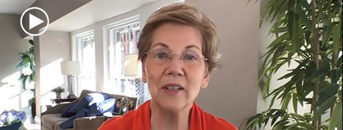 Senator Elizabeth Warren's Address