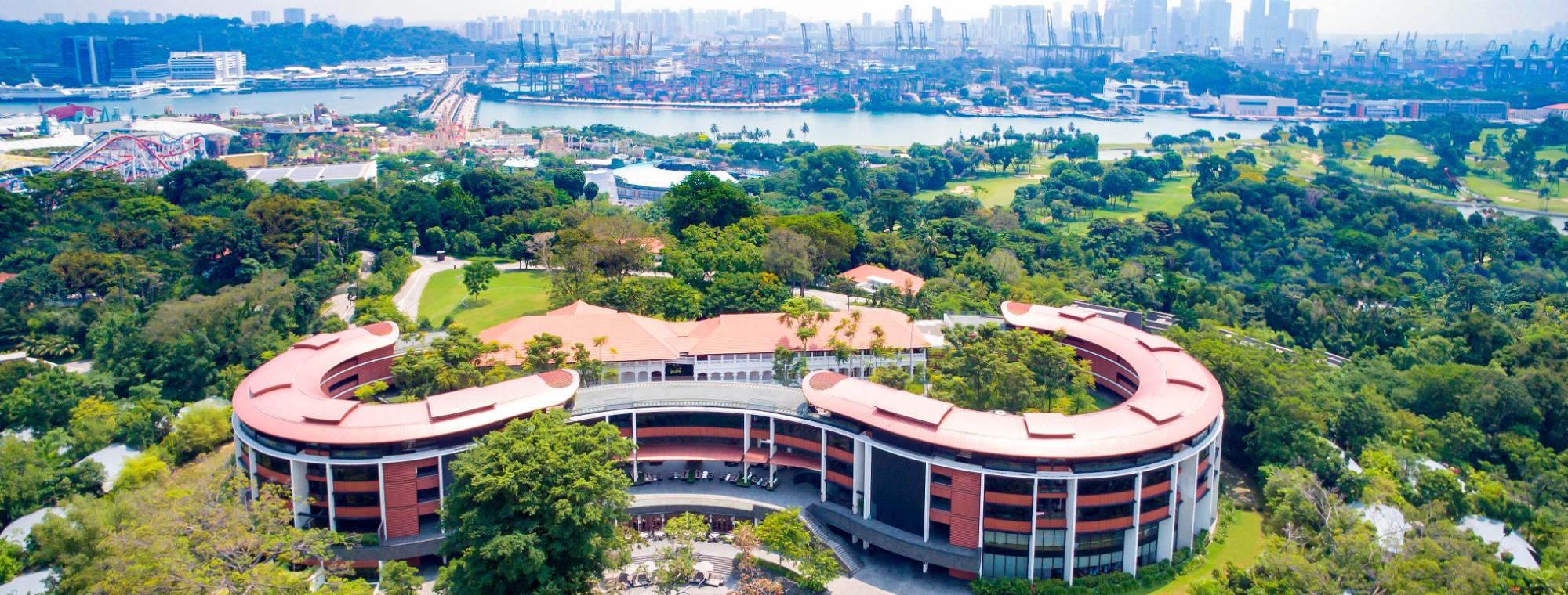 Capella Resort, Sentosa island, Singapore