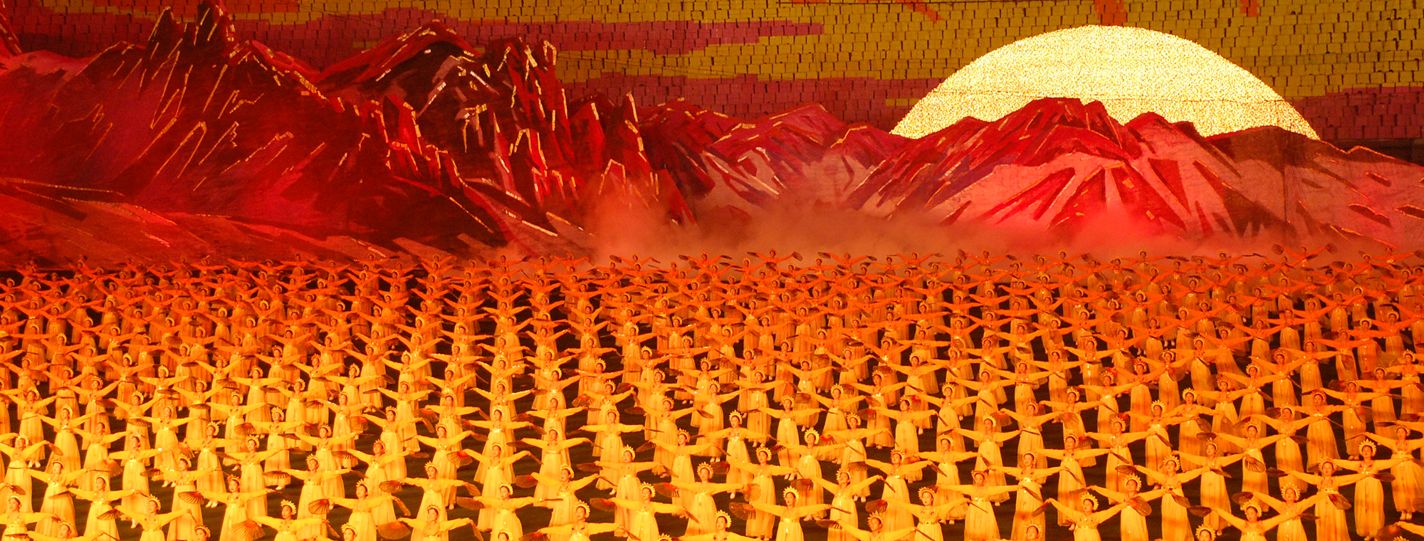 North Korea, Pyongyang, Arirang (Mass Games). Flickr / (stephan) (cc)