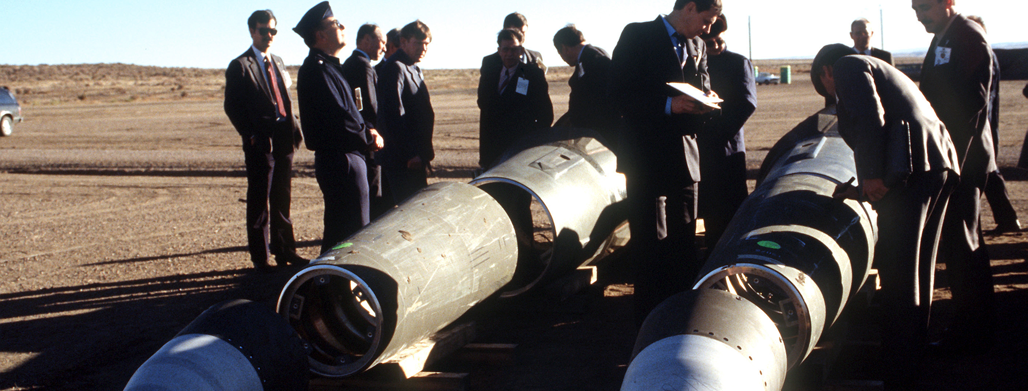 Soviet Inspection of American Pershing II Missiles in 1989