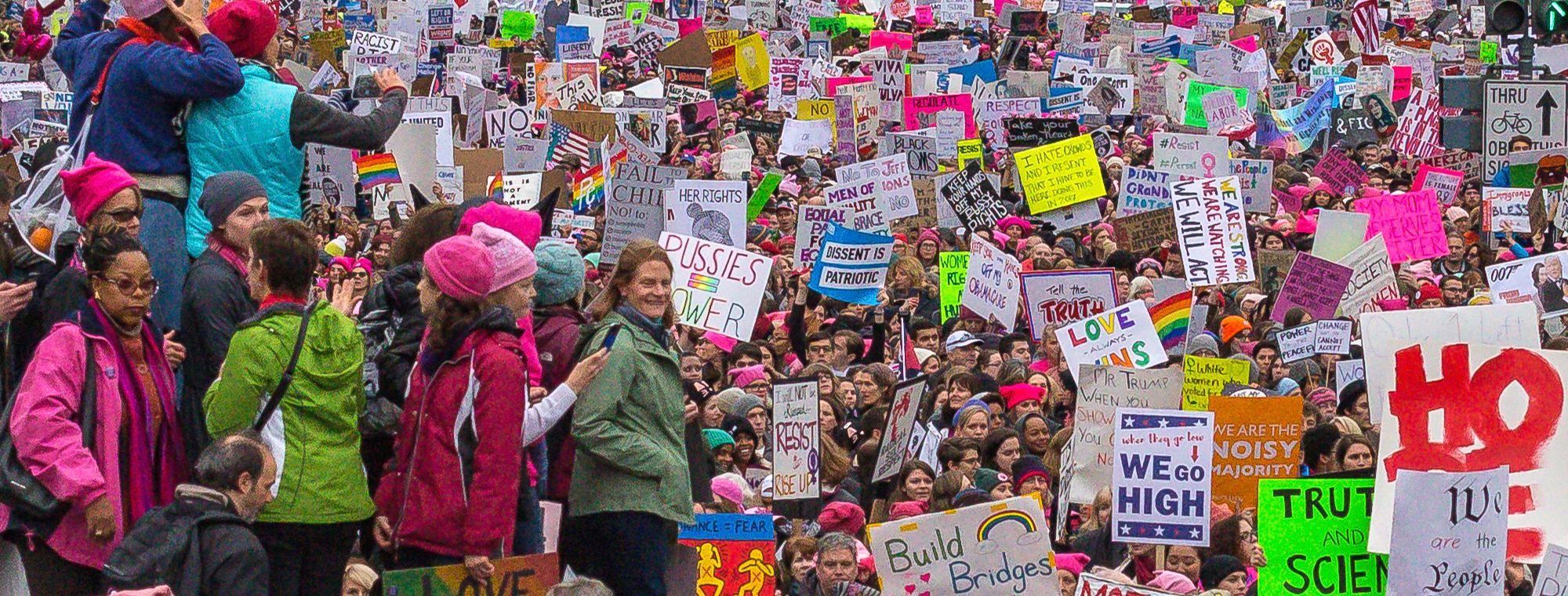 Flickr Women's March on Washington by Mobilius in Mobili (cc)