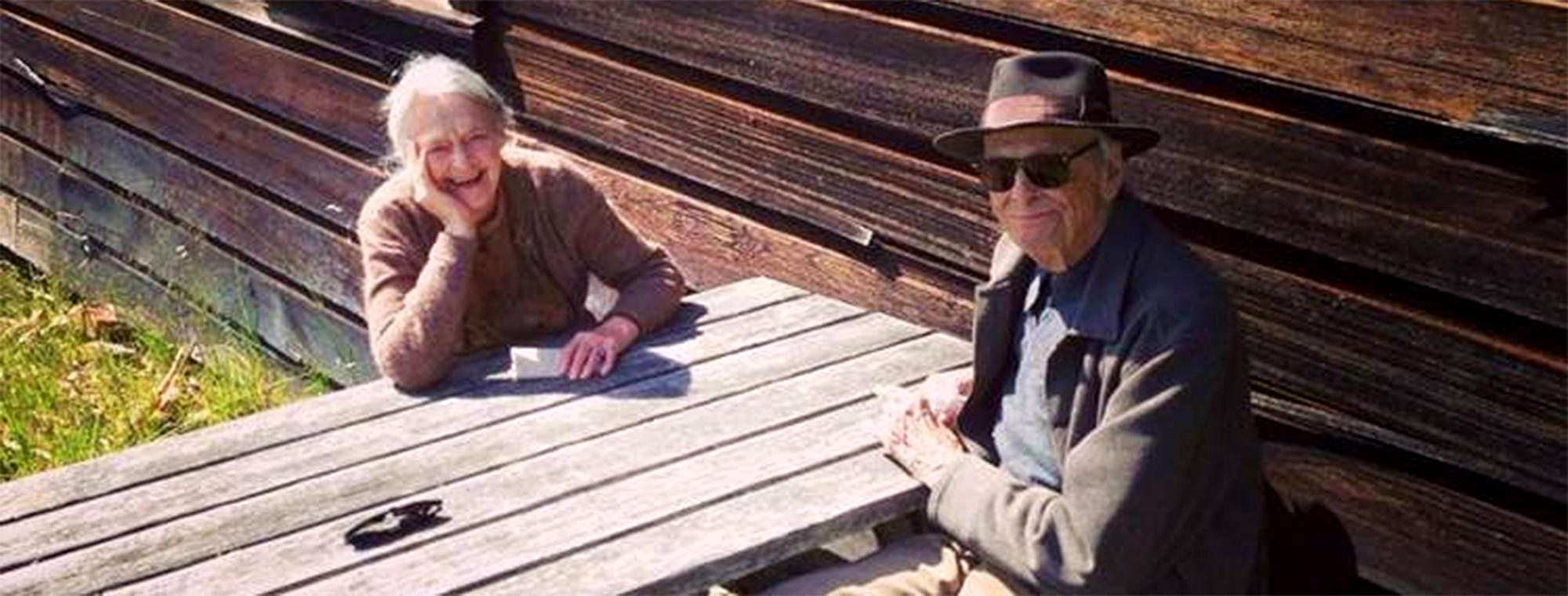 Bill and Joan Roth