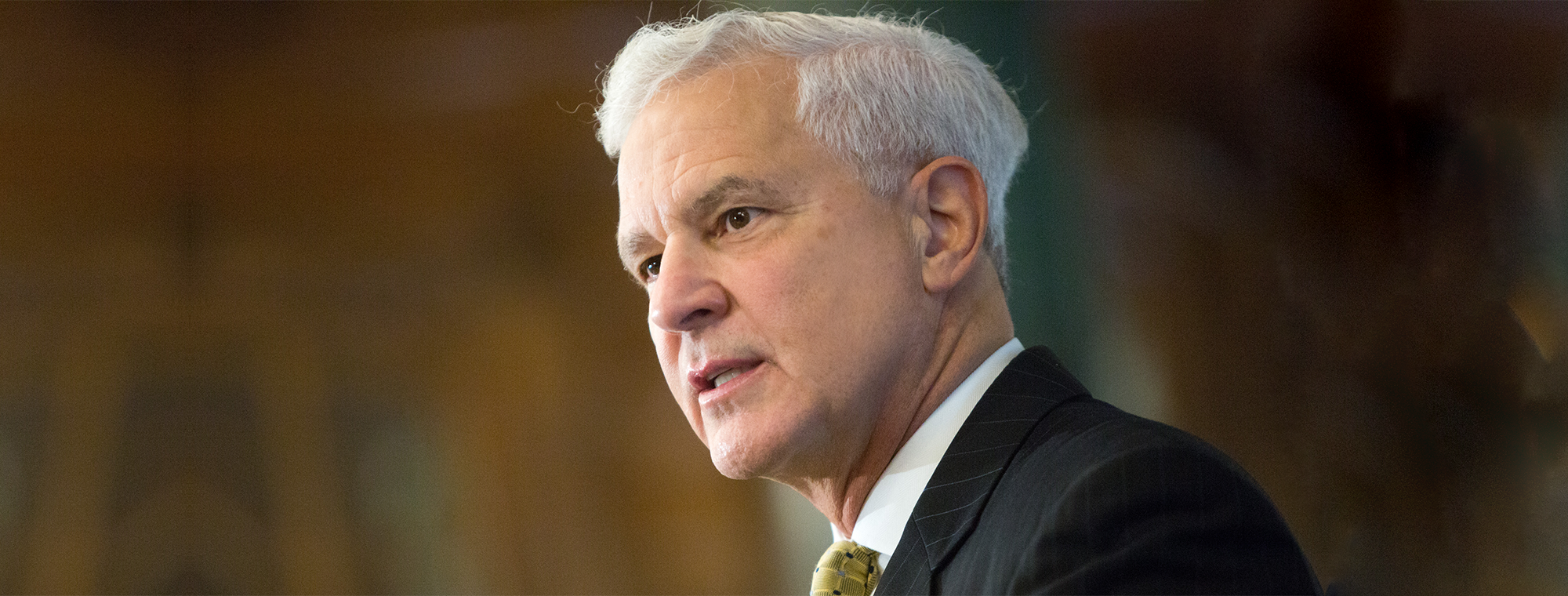 "Joe Cirincione at ""Nuclear Policy in a Time of Crisis,"" October 2018"