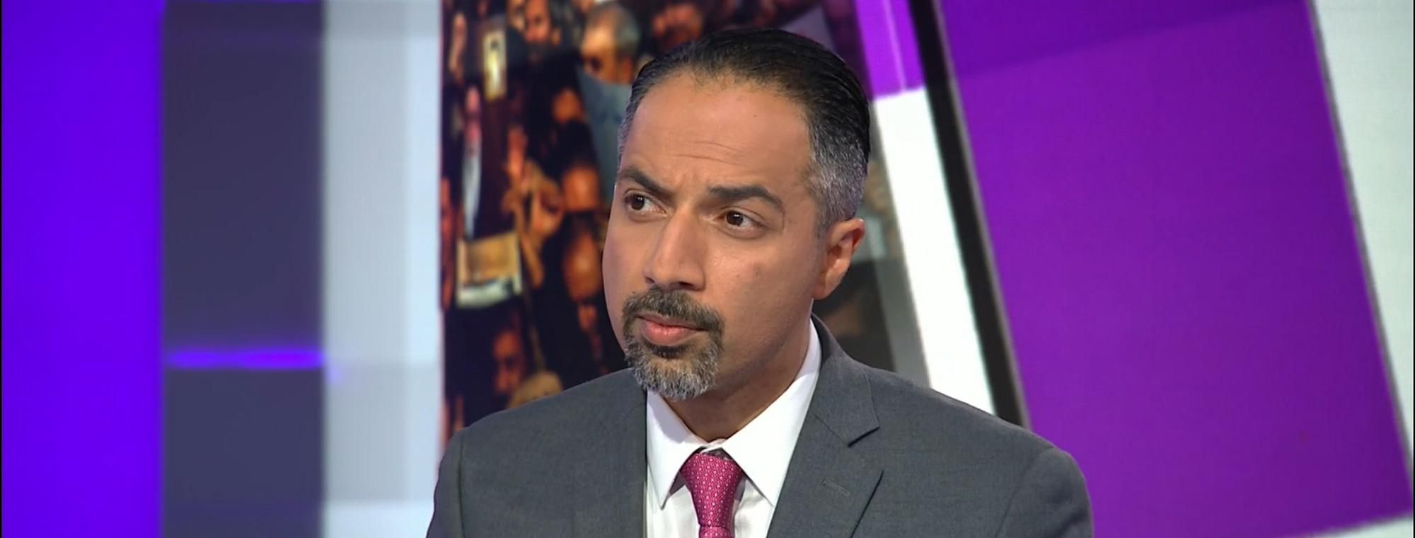 Trita Parsi, executive vice president of the Quincy Institute on CNN